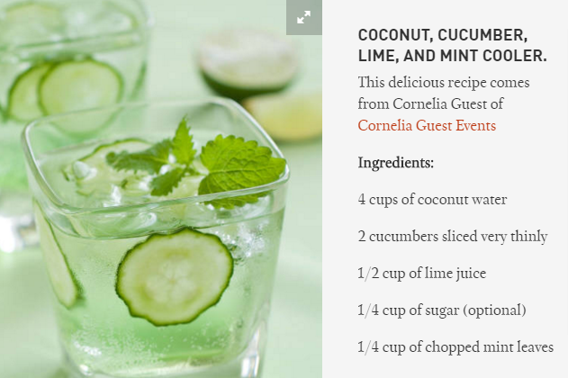 Coconut Lime Cooler