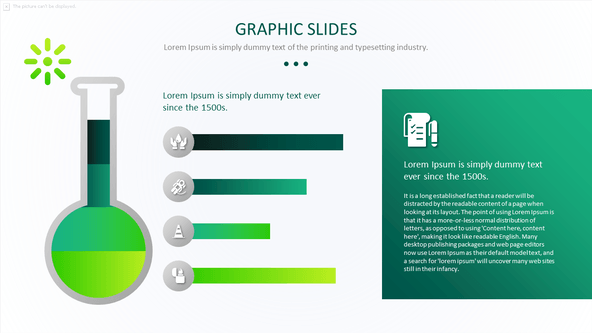 FREE Science Graph PowerPoint Template PowerPoint Template