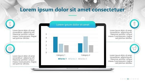 FREE Creative Animated Pharmaceutical PowerPoint Template PowerPoint Template