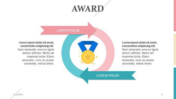 FREE Award PowerPoint Template PowerPoint Template