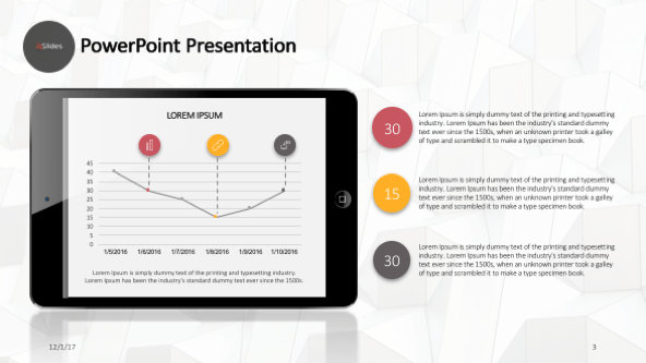 FREE Generic Mobile Pack Templates PowerPoint Template