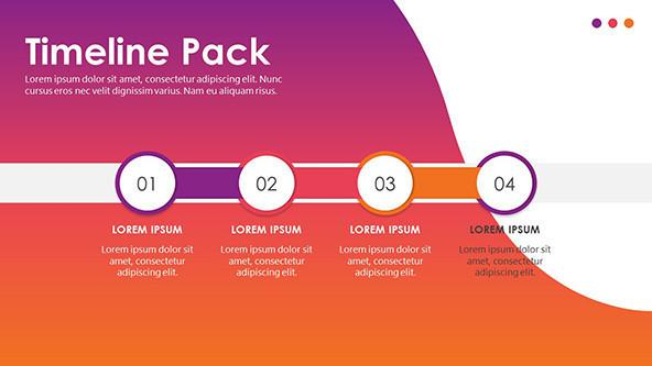 FREE Creative Timeline PowerPoint Template Pack PowerPoint Template