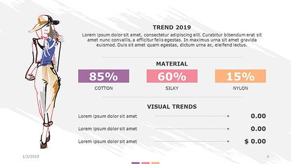 FREE Fashion PowerPoint Template PowerPoint Template