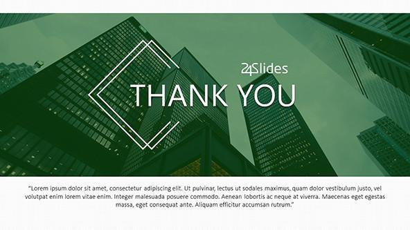 FREE Thank You Slides PowerPoint Template PowerPoint Template