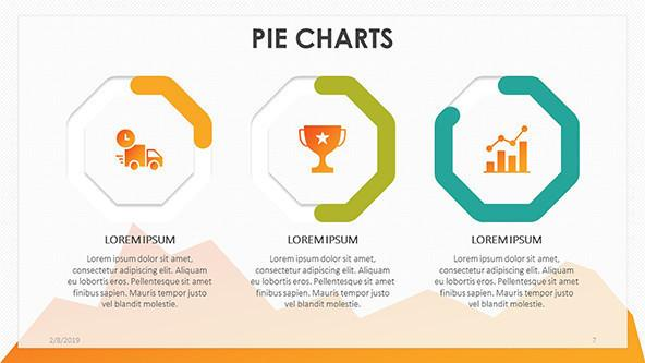 FREE Pie Chart PowerPoint Template PowerPoint Template