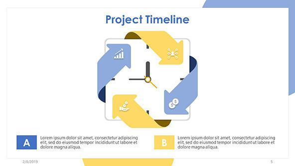 FREE Project Timeline PowerPoint Template PowerPoint Template