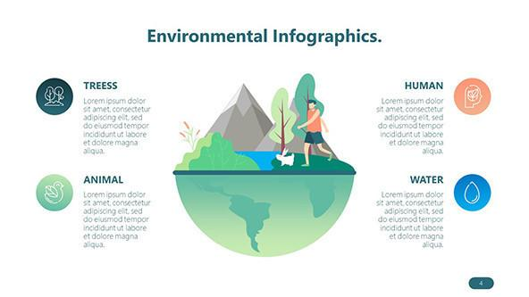 FREE Playful Environmental Slides Deck Template PowerPoint Template