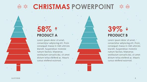 FREE Christmas PowerPoint Template PowerPoint Template