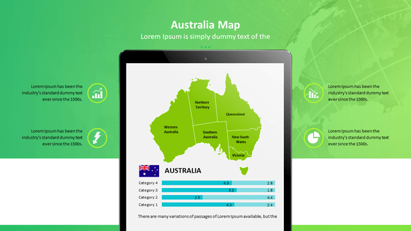 FREE Maps of the World PowerPoint Template PowerPoint Template