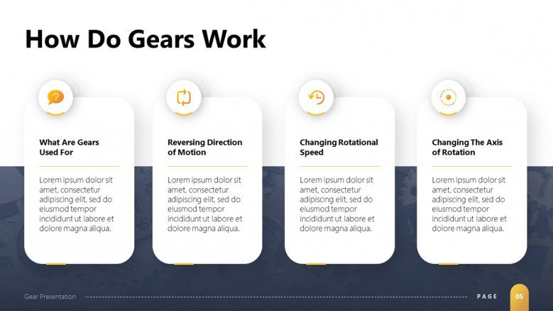 Gears Function Slide