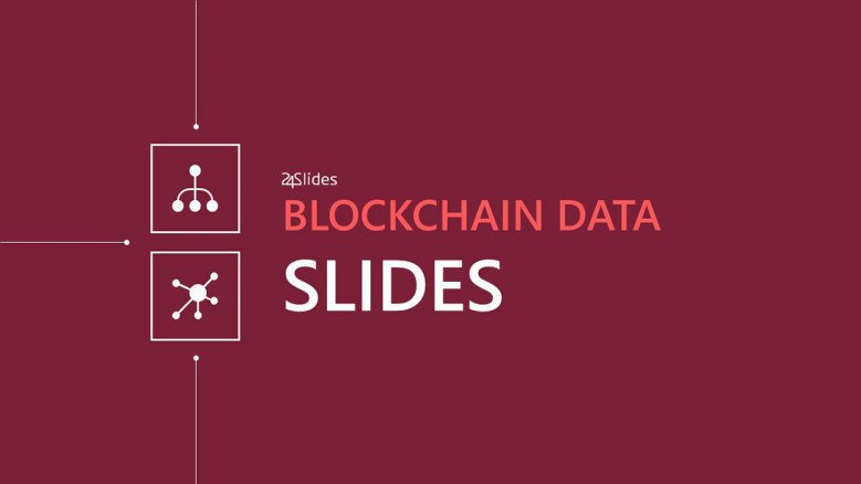 welcome slide for block chain presentation
