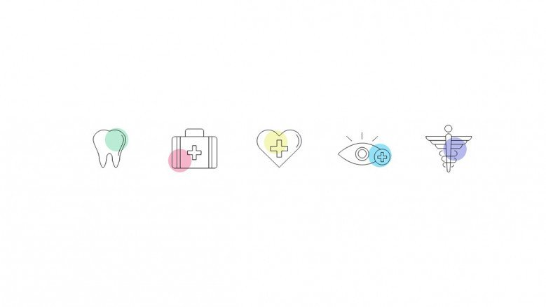Creative Icons for Pharmacy and Medical Presentations
