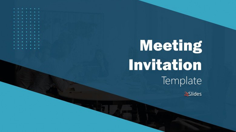 Business Meeting Invitation Templates