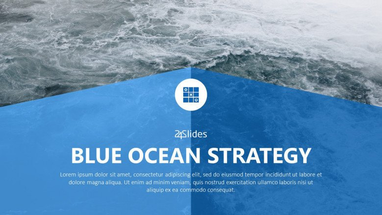 blue ocean strategy welcome slide