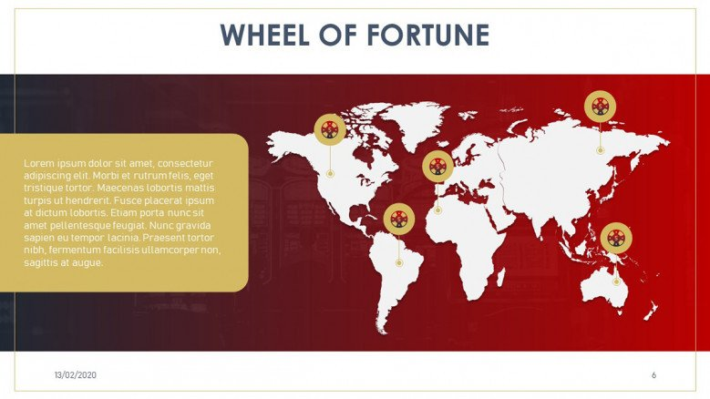 Wheel of fortune game in the world