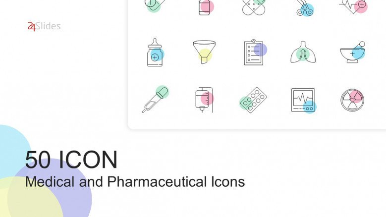 50 Medical and Pharma Icons