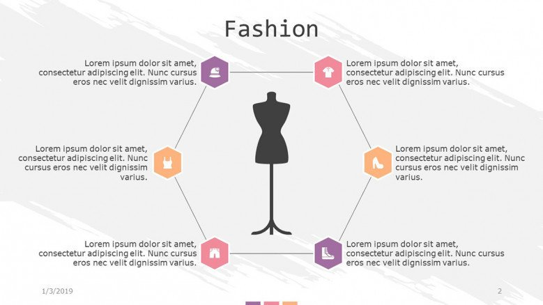 fashion slide with cycle chart