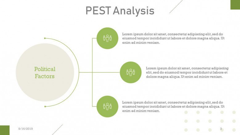 PEST Analysis Political factors