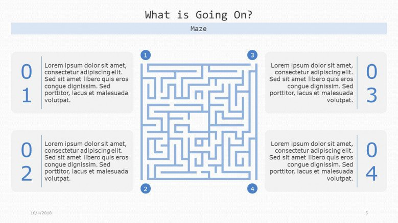 what is going on slide matrix in maze