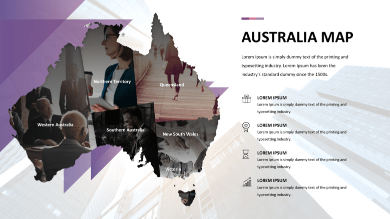 Australia maps with images
