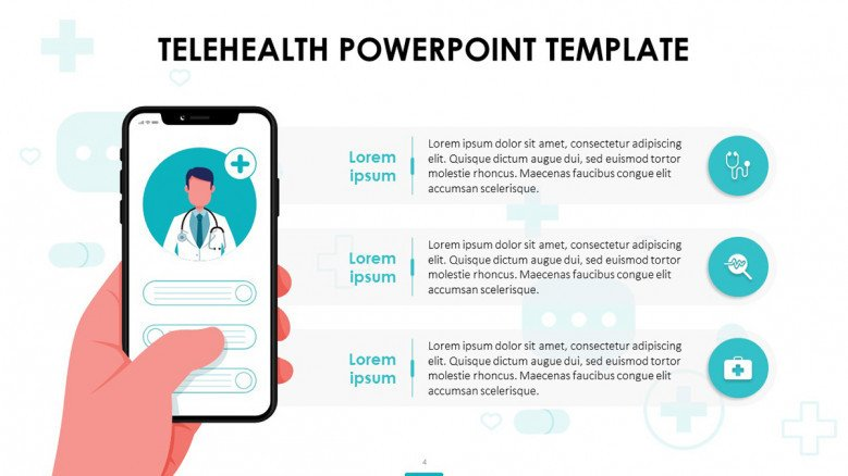 Telehealth App Slide