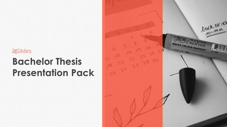 Bachelor Thesis Presentation Template Pack | Free Download