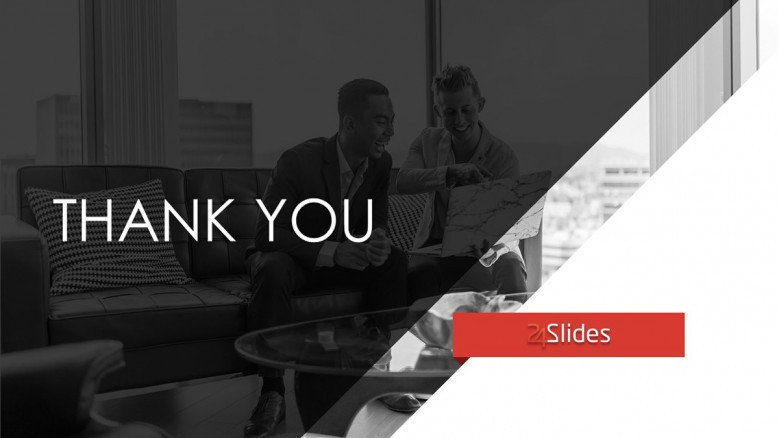 consulting thank you slide