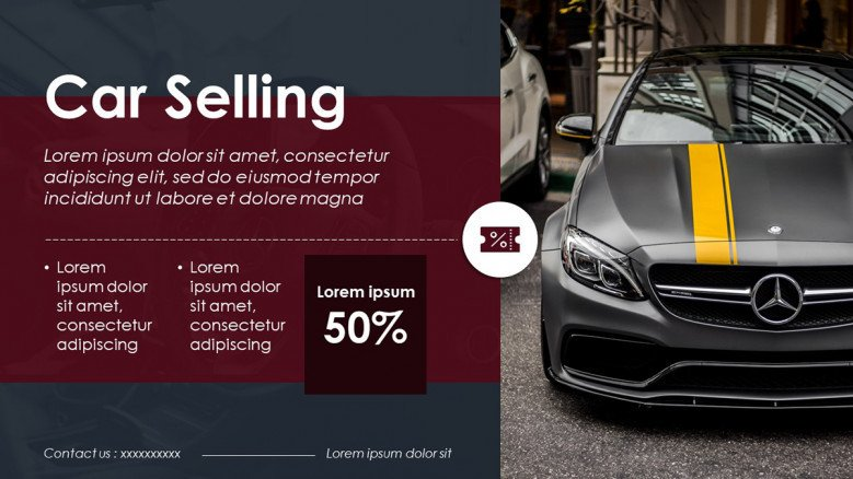 Flyer template for a Car Selling Sale