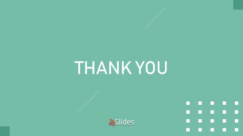 Corporate Thank You slide