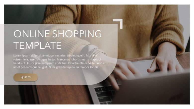 Online Shopping PowerPoint Template