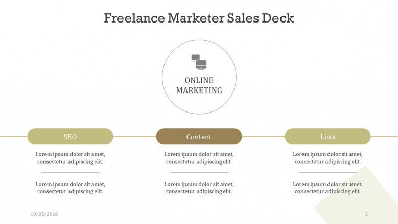 freelance marketer analysis in three key factors