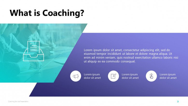 Coaching PowerPoint Slide