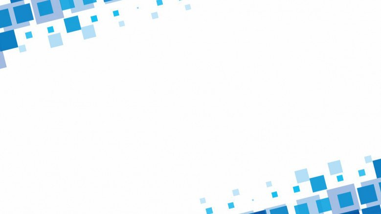 presentation background in white and blue edges