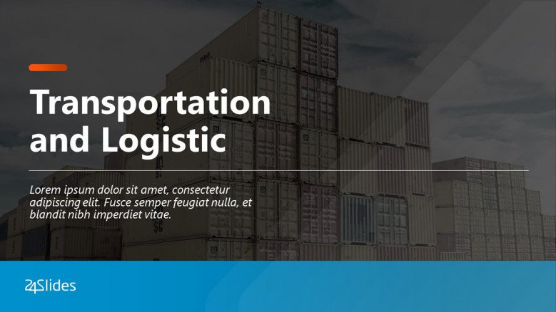 Transportation and Logistics PowerPoint Template