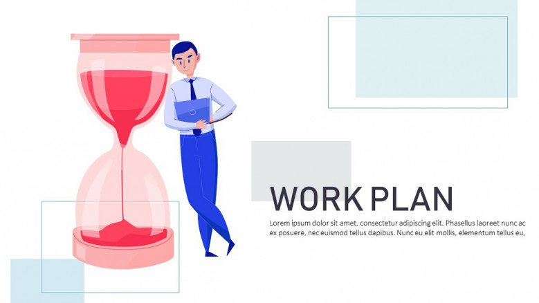 Work Plan PowerPoint Template