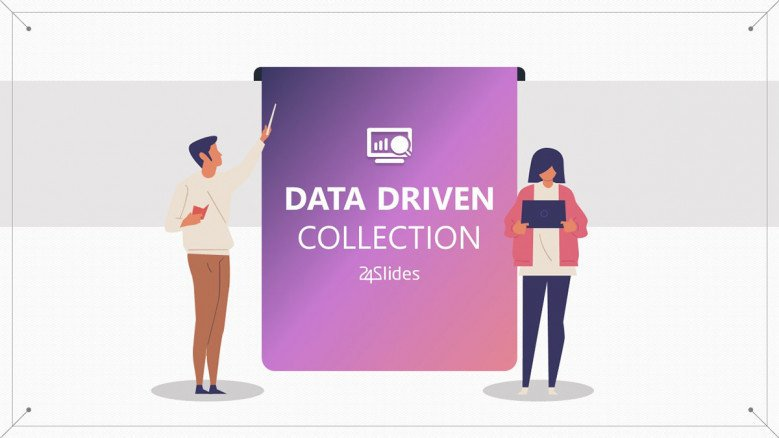 welcome slide for data driven collection template