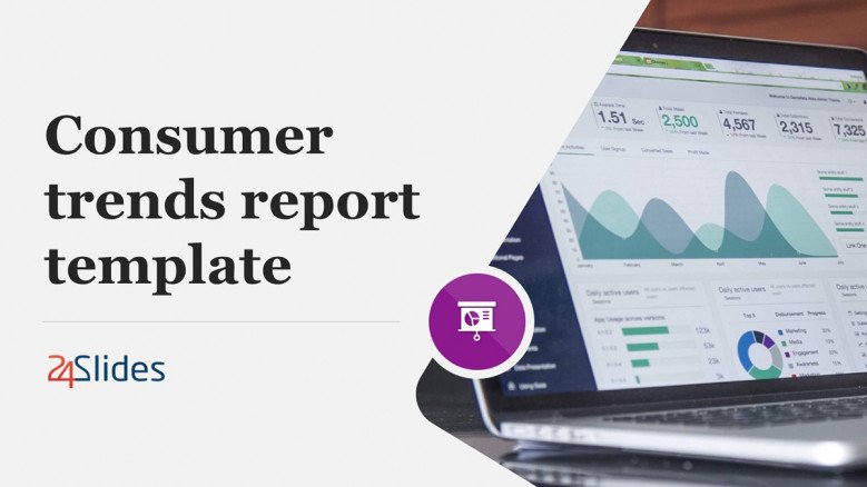 Consumer Trends Report PowerPoint Template