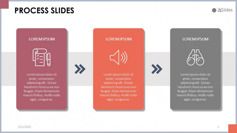 Process Slide | Free PowerPoint Template