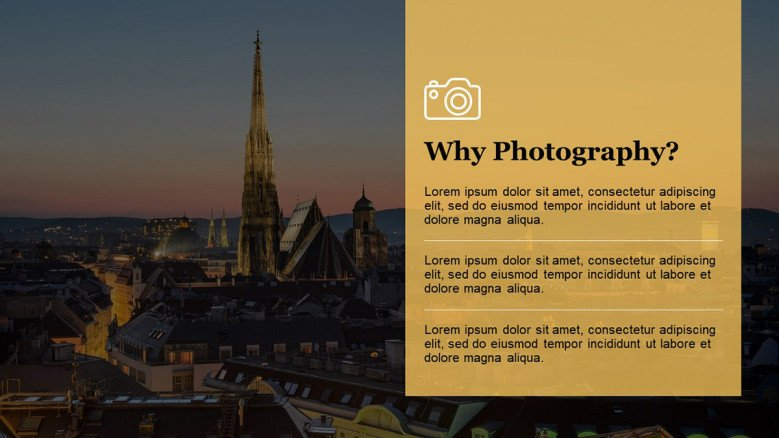 Photography PowerPoint Slide