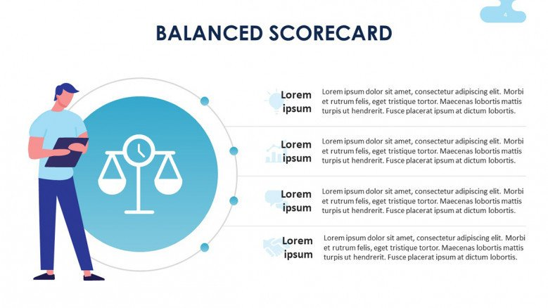 Balanced Scorecard Performance Indicators Slide
