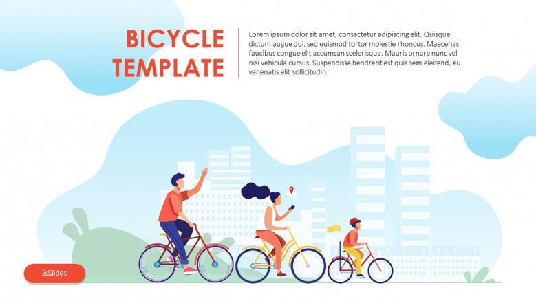 Bicycle Safety PowerPoint Template