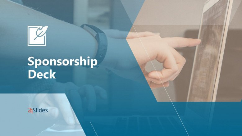 Sponsorship Deck Template in creative style