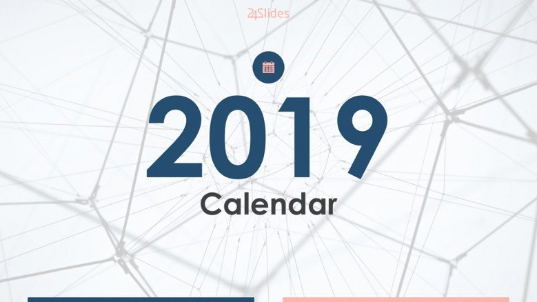 welcome slide for 2019 calendar