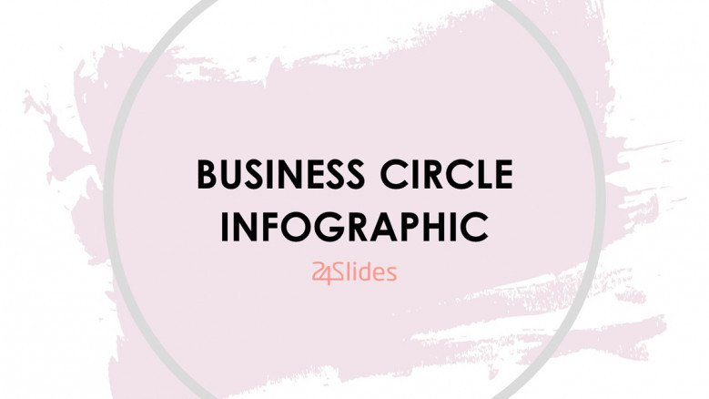 Creative Business Circle Infographic