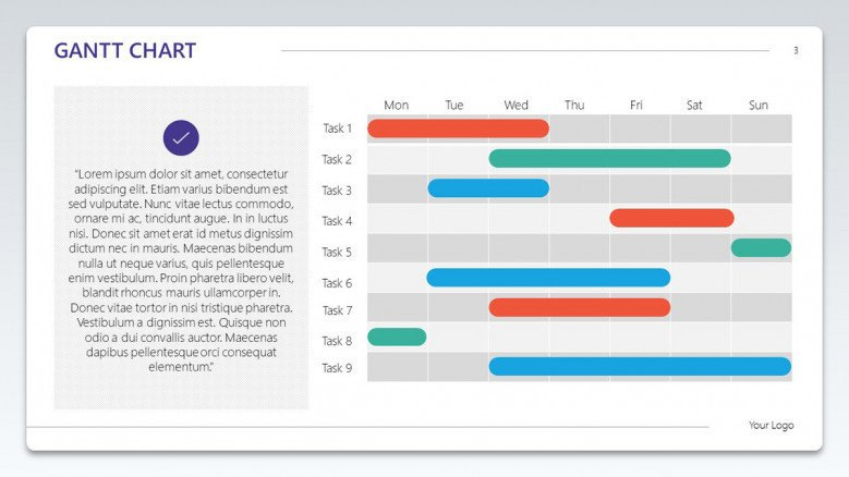 gantt chart scheduled planner