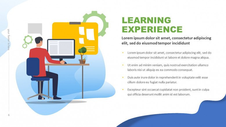 Workshop Learning Experience Slide
