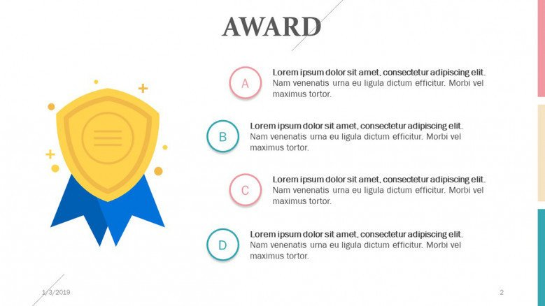 key factors for award in four points