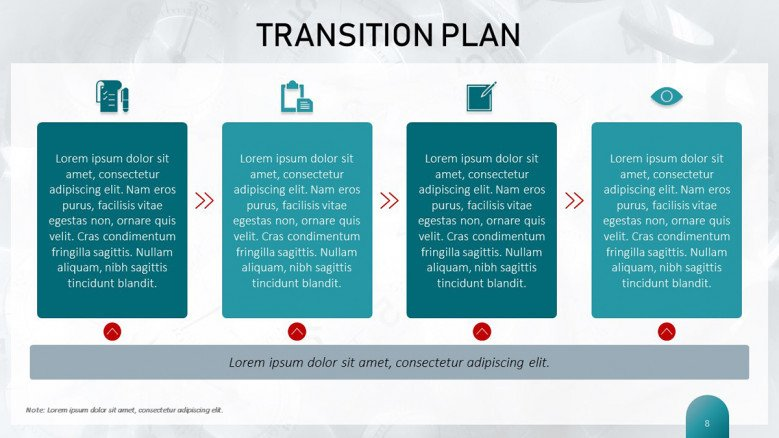 Transition Plan Template | Free PowerPoint Template