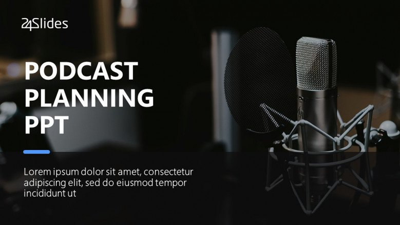 Podcast Planning PowerPoint Template