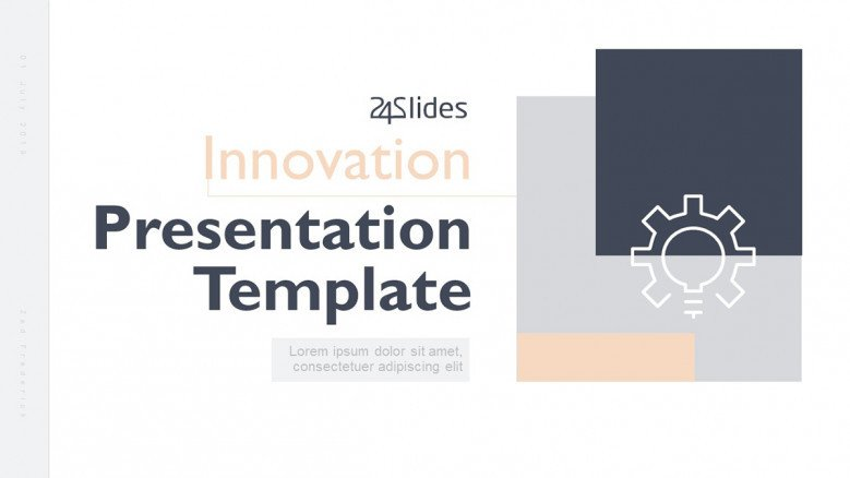 Business Innovation Presentation Template